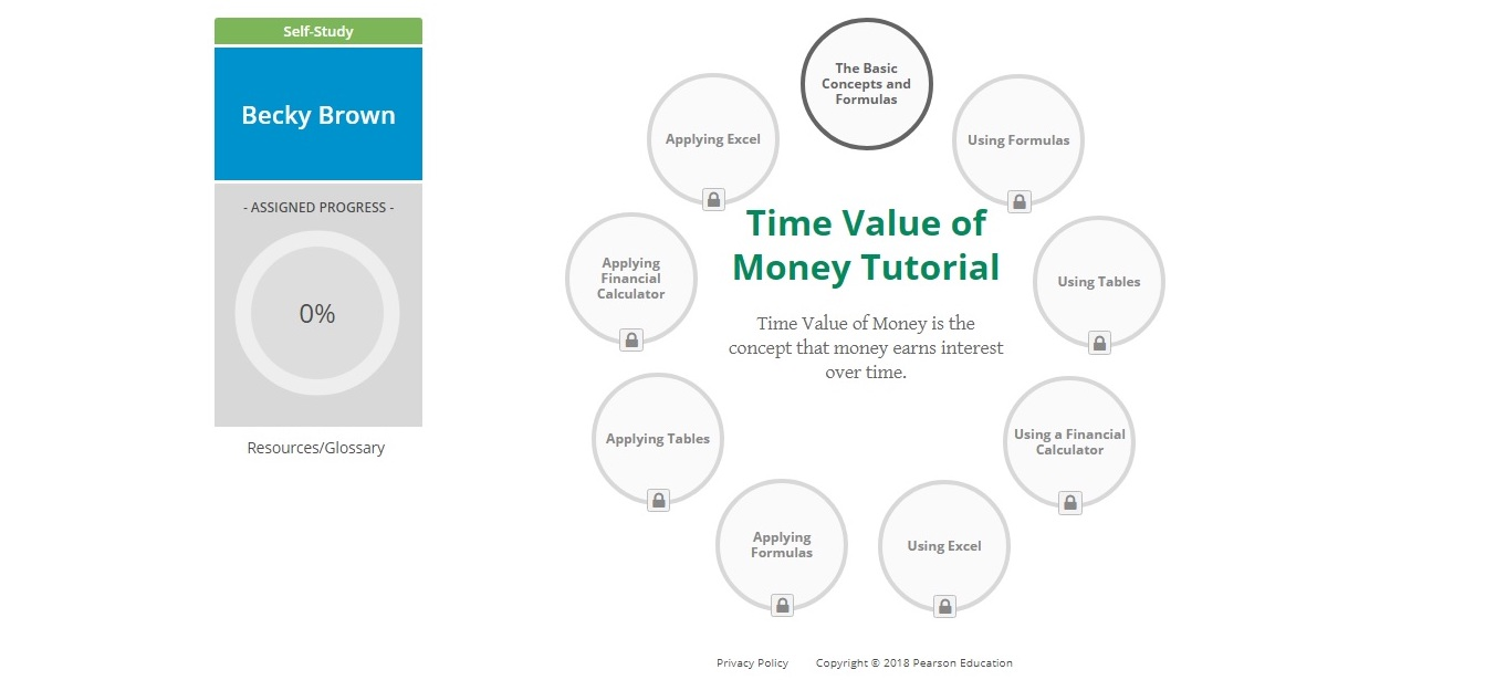 Time Value of Money Tutorial