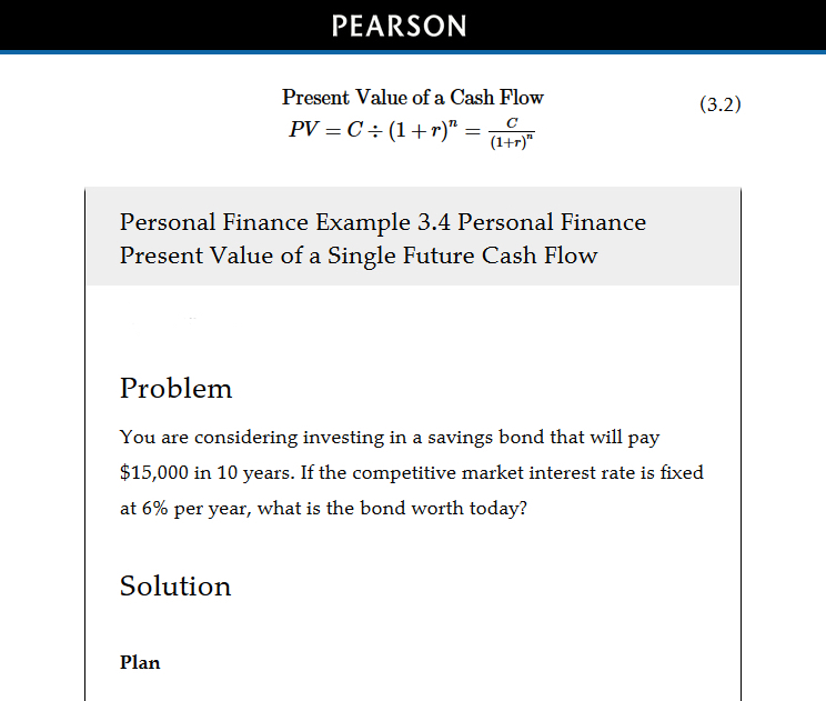 Features For Students MyLab Finance Pearson